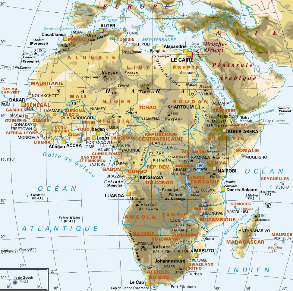 Carte Afrique Sans Pays.Etymologie Origine Des Noms De Pays Africains Culturebene