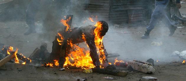 Photo of Bandjoun : Un suspect brûlé vif !
