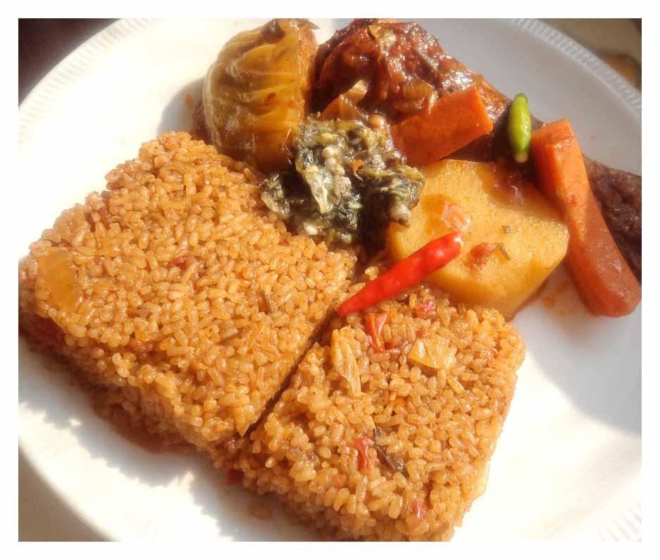Cuisine thieboudienne ou riz au gras culturebene - Cuisine africaine facile ...