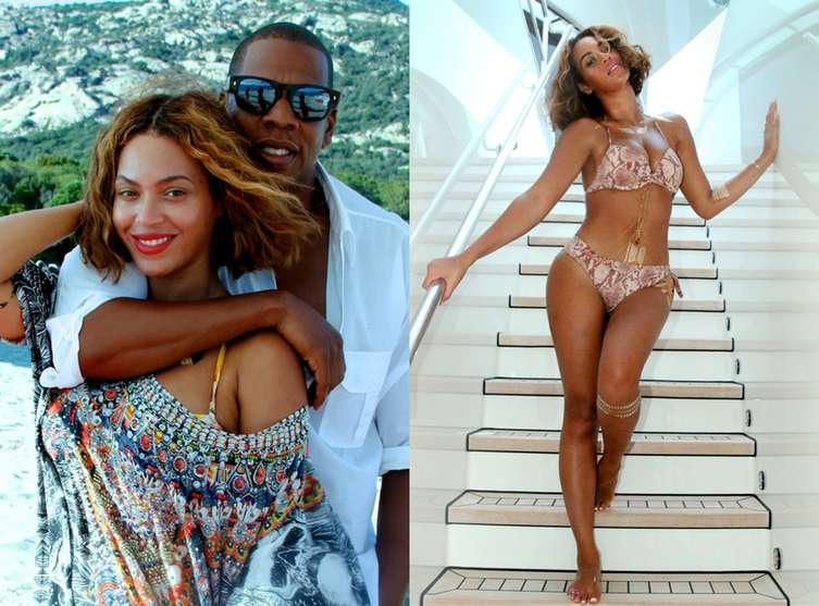 d2583c404c Beyoncé se dévoile en bikini sexy, le ventre ultra plat - Culturebene