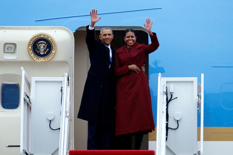 Photo of Michelle et Barack Obama ont quitté Washington