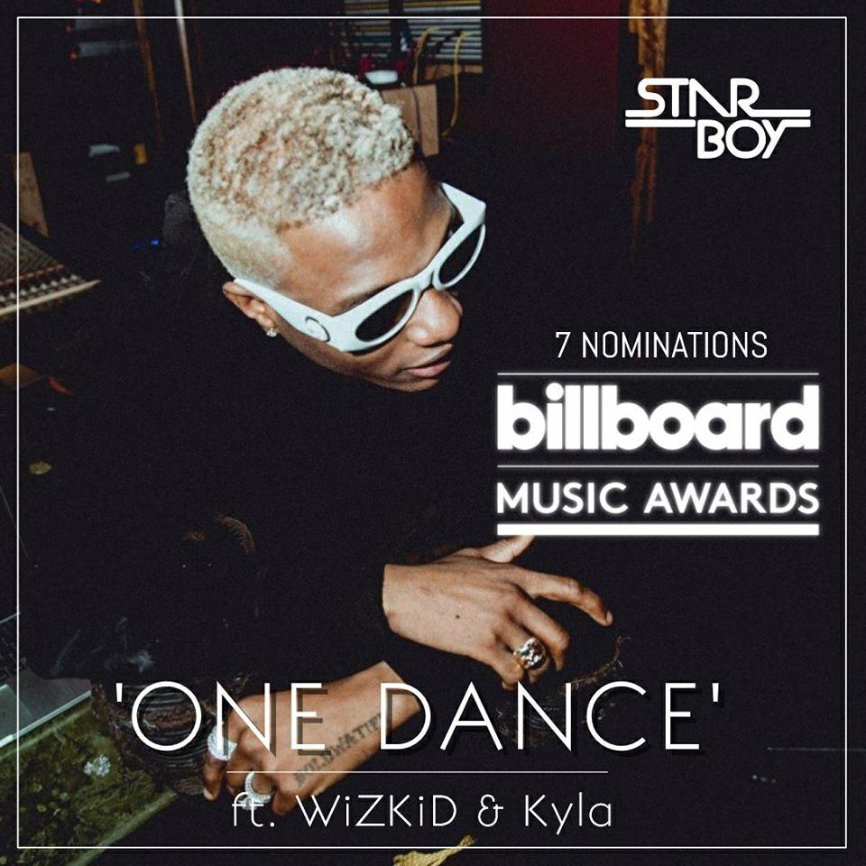 Mother Son Dance Songs 2017: WizKid Enregistre 7 Nominations Aux Billboards Music