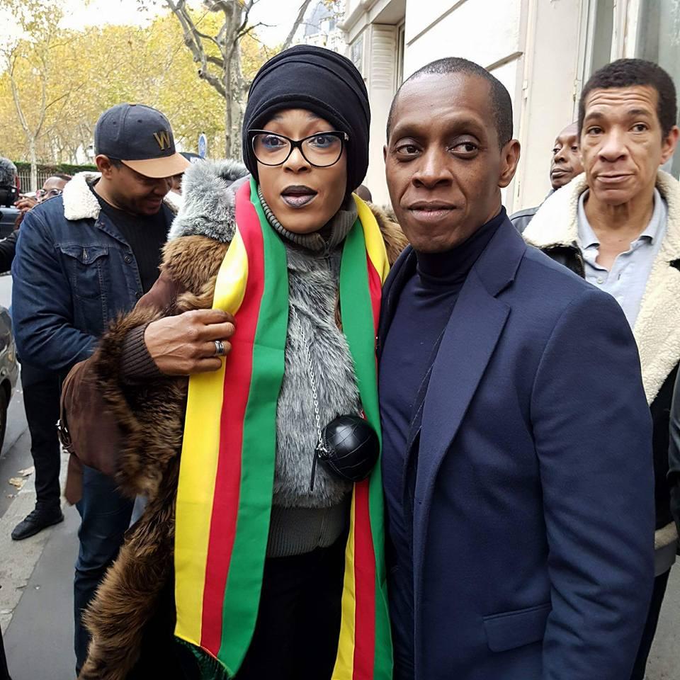 Photo of Chantal Ayissi, Douleur, Charlotte Dipanda, Lady Ponce… ont Manifesté à Paris contre l'esclavage en Libye