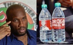 Drogba donne son nom à une bouteille d'eau minérale à Phoenix !