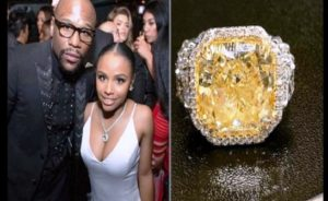 Floyd Mayweather offre une bague de 5 millions de dollars à sa fille !