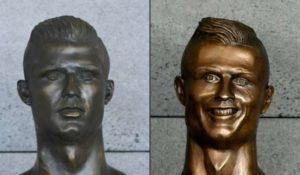 Le buste de Ronaldo à l'aéroport de Madère changé !