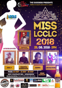 Miss LCCLC 2018 The Goddess : La finale le 25 août  au pavillon royal du complexe Byblos à Douala
