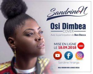 Sandrine Nnanga « Osi Dimbea » une reprise de Ben Decca ft Grace Decca, le vidéogramme sera dévoilé le 18 septembre