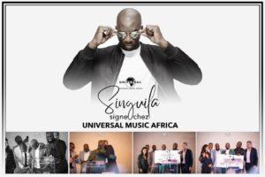 Singuila a signé à Universal Music Africa