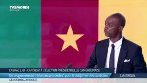 Cabral Libii : «Je suis le seul candidat capable de battre Paul Biya… «