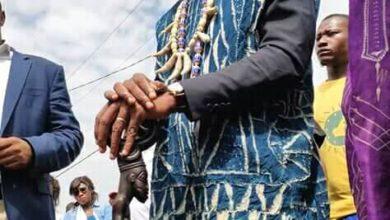 Photo de Élection présidentielle , Cabral Libii a été intronisé notable bamiléké à la chefferie supérieure de Bafoussam