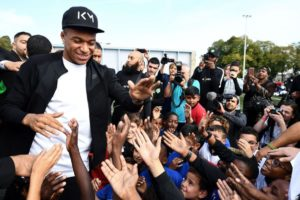 Le retour triomphal de Kylian Mbappé à Bondy