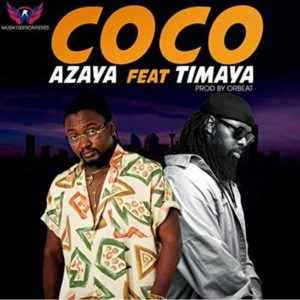 """Azaya nous présente le clip de """"Coco"""", en featuring avec Timaya !"""