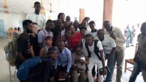 CAPS 2018 : Lydol partage son expérience avec les jeunes slameurs tchadiens