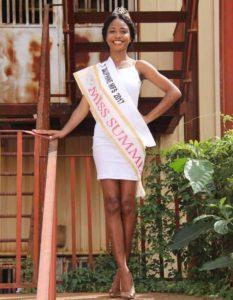 Charline NKOA, son expérience en tant que première Miss Summer Cameroun