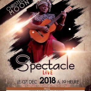 Christelle Moon vous invite à son spectacle aux milles couleurs intitulé ''Dûlû'' « Voyage » ce vendredi 07 décembre au centre culturel camerounais !