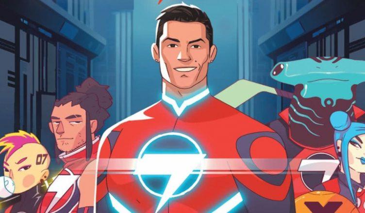 Cristiano Ronaldo: il lance sa propre bande dessinée '' Striker Force 7''