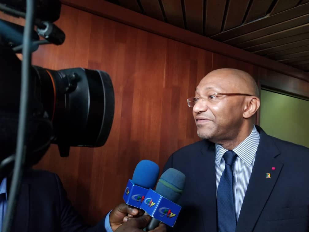 Photo of Seidou Mbombo Njoya : « Il n'y a pas d'équivoque, le Cameroun organisera la CAN 2021… »