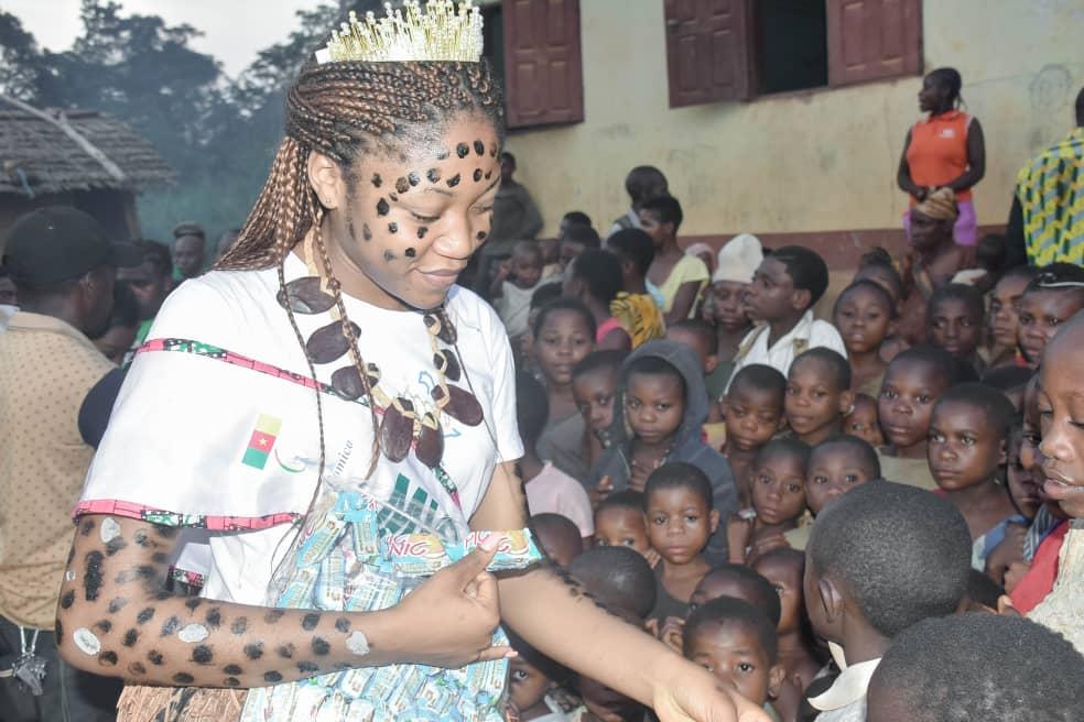 Photo of Ngassi Thérèsa Ange, le Rayon du soleil levant à la conquête de la couronne de Miss Cameroun 2020