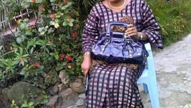 Photo of RDC : Christine Moloto épouse d'Alain Moloto est décédée