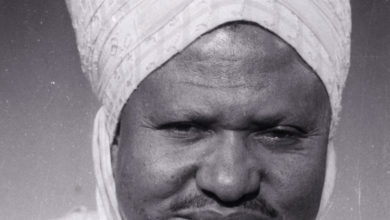 Photo of Portrait : Sa Majesté Seidou Njimoluh Njoya (1904-1992), 18e Roi Bamoun