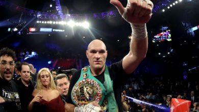 Photo of Tyson Fury nouveau champion WBC des lourds