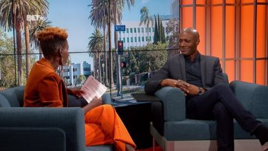 Photo de Harry Roselmack invité exceptionnel en février sur la chaine de télé BET pour célébrer le Black History Month
