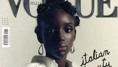 Photo of La mannequin sénégalaise Maty Fall victime de racisme après son apparition en couverture du prestigieux magazine Vogue Italie !
