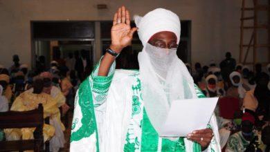 Photo de Garoua : Le président du tribunal coutumier de Demsa prête serment