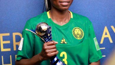 Photo of Nchout Ajara dit sa tristesse suite à l'annulation de la CAN féminine 2020