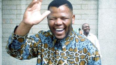 Photo de Ayanda Mbatyothi, le célèbre sosie de Nelson Mandela emporté par la COVID-19 !