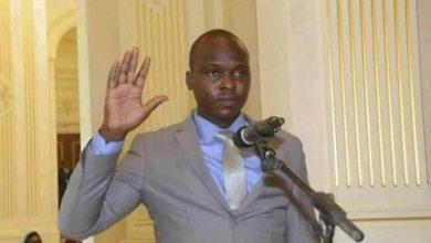 Photo of Routouang Mohamed Christian Ndonga, 29 ans, ministre de la jeunesse et de sport du Tchad !