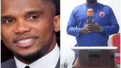 Photo of Un pasteur ivoirien prédit la mort de Samuel Eto'o