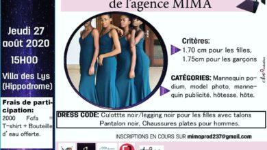 Photo of L'agence de mannequins, évènementiel MIMA lance un nouveau casting
