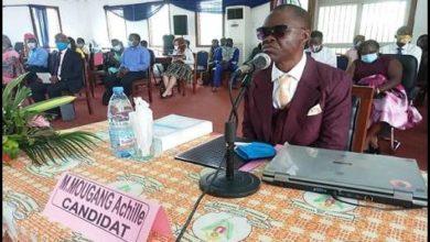 Photo of Le non voyant Mougang Achille a soutu sa thèse de doctorat PhD à l'Université de Yaoundé II !