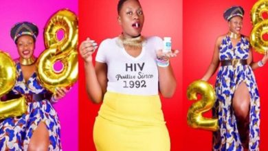 Photo of Cette jeune dame célèbre 28 ans de vie avec le VIH !