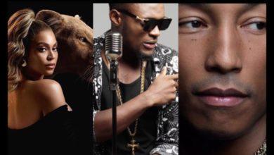 Photo de Salatiel honore le Cameroun dans sa collaboration avec Beyonce et Pharrell Williams !