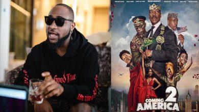 """Photo de Davido et trois autres acteurs Nigérians annoncés dans le casting de ''Un prince à New York 2"""" !"""