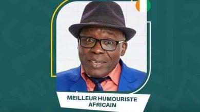 Photo de Gohou Michel une nouvelle fois mis en avant pour son talent, au Prix Africain du développement