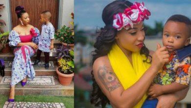 Photo de « Je suis jalouse de la relation de mon fils et sa nounou», dixit Tonto Dikeh !