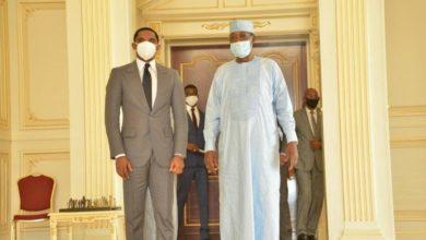 Photo de Samuel Eto'o et Naïr Abakar nommés ambassadeurs itinérants par le Président Tchadien Idriss Déby !