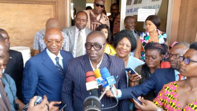 Photo de Election au poste de PCA de la SONACAM : Jean Pierre Essomé Officiellement candidat