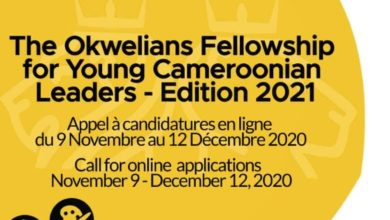 Photo de THE OKWELIANS FELLOWSHIP FOR YOUNG CAMEROONIAN LEADERS EDITION 2021 – APPEL A CANDIDATURES