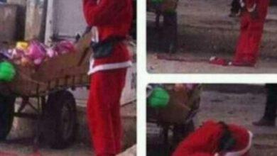 Photo de Une image d'un Père Noël musulman intrigue et amuse la toile!
