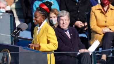 Photo de Qui est Amanda Gorman, la jeune poétesse de la cérémonie d'investiture de Joe Biden ?