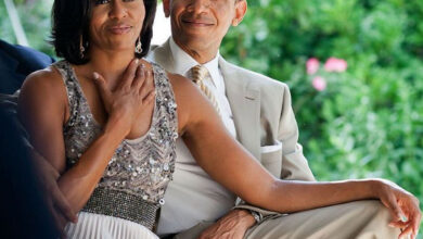 Photo de Le Message D'amour De Barack Obama Pour le 57e anniversaire de son épouse Michelle