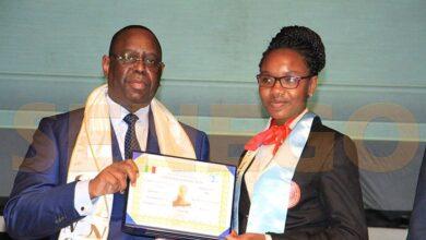 Photo de Diary Sow, la meilleure élève du Sénégal, portée disparue en France
