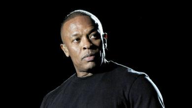 Photo de Le rappeur et producteur américain Dr. Dre aux soins intensifs après un anévrisme cérébral