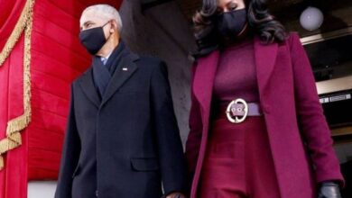 Photo de Investiture de Joe Biden : Michelle Obama fait sensation avec son look