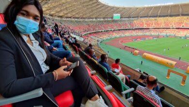 Photo de Pour Nourane Foster « Japoma est le plus beau stade d'Afrique…»